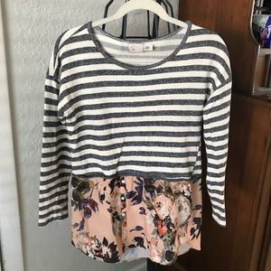 Anthropologie Postcard layered top